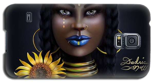 Sunflower Goddess  Galaxy S5 Case