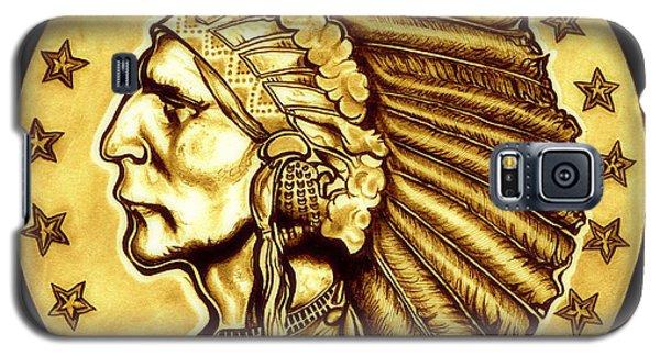 Sunflower Gold Quarter Eagle Galaxy S5 Case