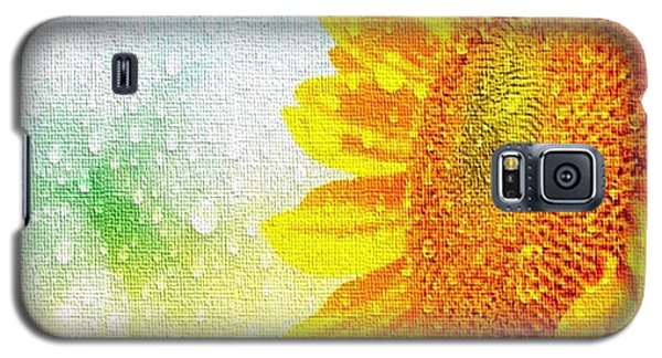 Sunflower In A Sunshower Galaxy S5 Case