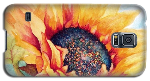 Sunflower Joy Galaxy S5 Case