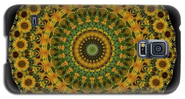 Sunflower Mandala Galaxy S5 Case