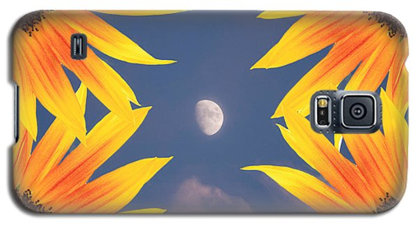 Sunflower Moon Galaxy S5 Case by James BO  Insogna