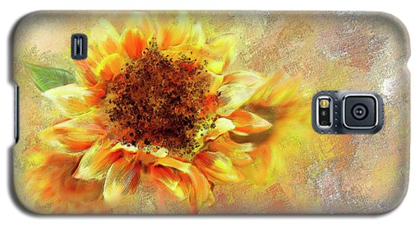 Sunflower On Fire Galaxy S5 Case