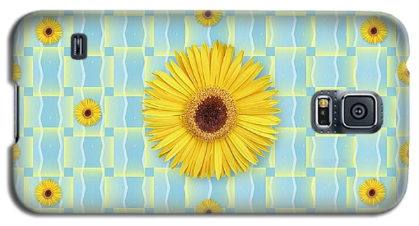 Sunflower Pattern Galaxy S5 Case