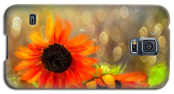 Sunflower Rain Galaxy S5 Case