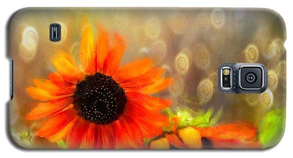 Sunflower Rain Galaxy S5 Case