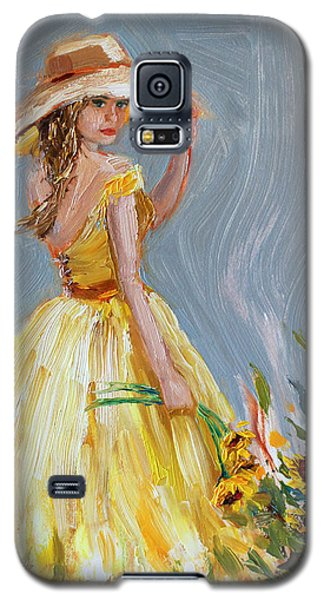 Sunflower Seduction Galaxy S5 Case
