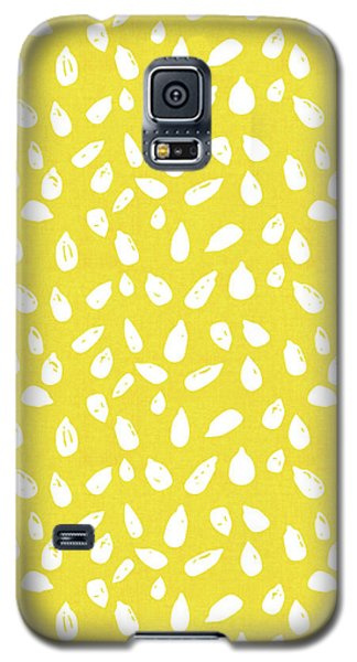 Galaxy S5 Case featuring the mixed media Sunflower Seeds- Art By Linda Woods by Linda Woods
