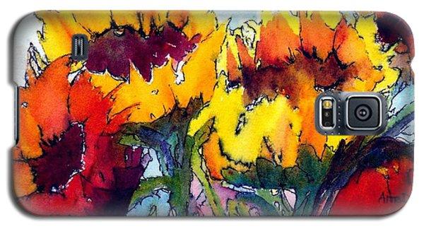 Sunflower Serenade Galaxy S5 Case