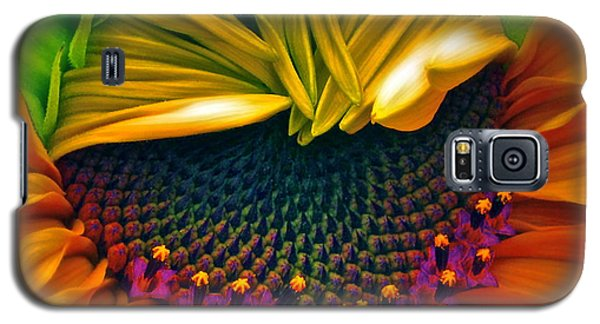 Sunflower Smoothie Galaxy S5 Case by Gwyn Newcombe