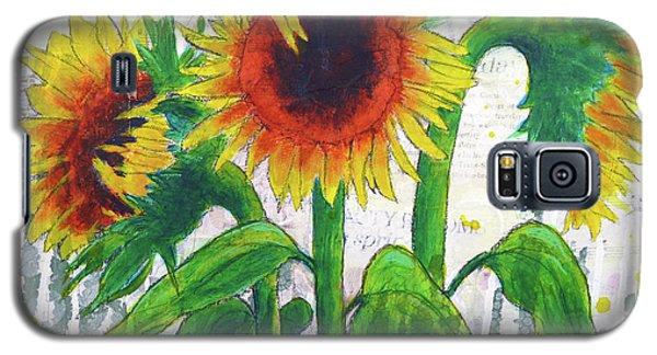 Sunflower Sonata Galaxy S5 Case