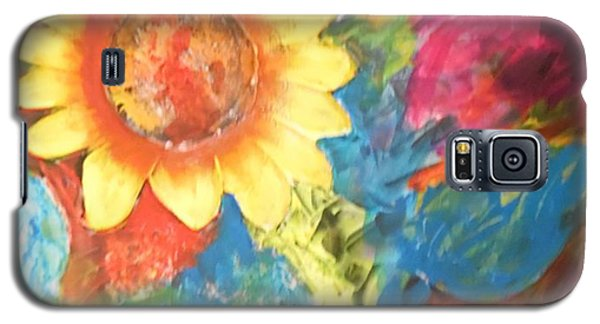 Sunflower Song Galaxy S5 Case by Esther Newman-Cohen