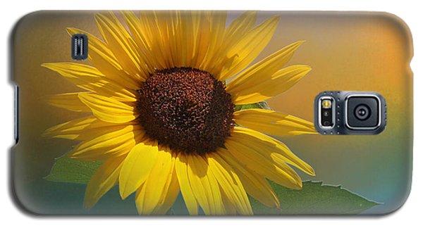 Sunflower Summer Galaxy S5 Case by TK Goforth