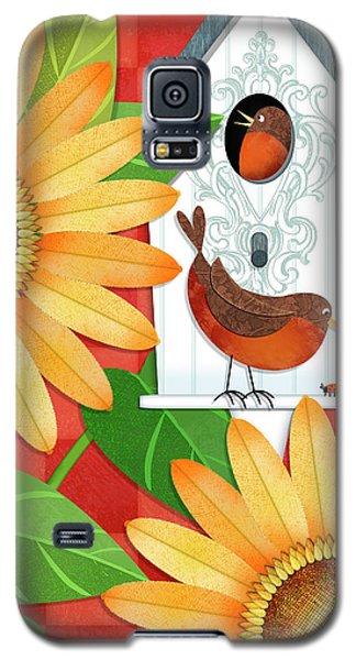 Sunflower Surprise Galaxy S5 Case