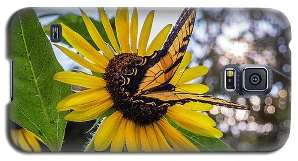 Sunflower Swallowtail Galaxy S5 Case