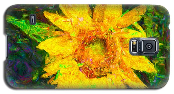 Sunflower Van Gogh Galaxy S5 Case