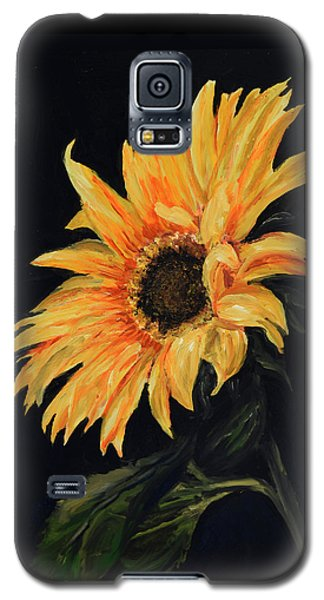 Sunflower Vii Galaxy S5 Case by Sandra Nardone