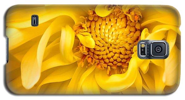 Sunflower Yellow Galaxy S5 Case