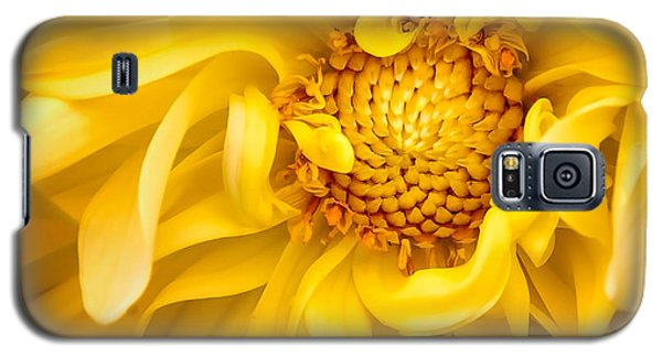 Sunflower Yellow Galaxy S5 Case