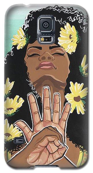 Sunflowers And Dashiki Galaxy S5 Case
