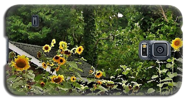 Sunflowers At The Good Earth Market Galaxy S5 Case
