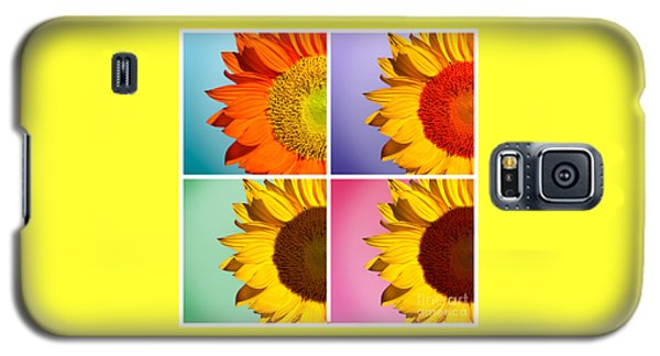 Sunflowers Collage Galaxy S5 Case