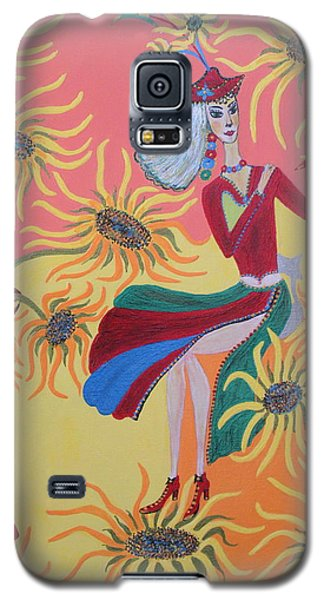 Sunflower's Contessa  Galaxy S5 Case