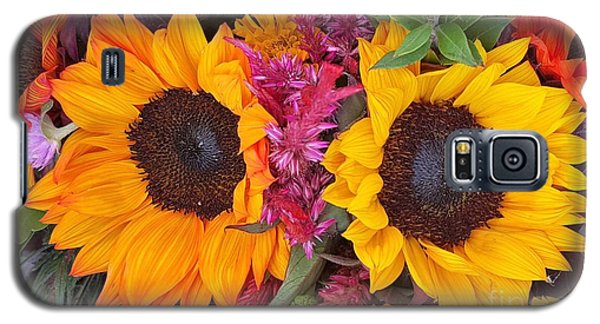 Sunflowers Eyes Galaxy S5 Case