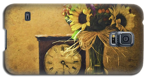 Sunflowers Floral Still Life 3 Galaxy S5 Case