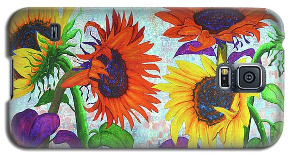 Sunflowers For Elise Galaxy S5 Case