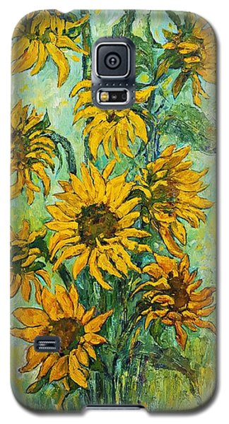 Sunflowers For This Summer Galaxy S5 Case