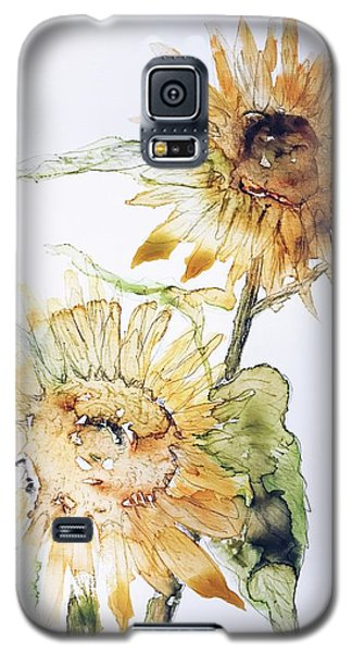 Sunflowers II Uncropped Galaxy S5 Case