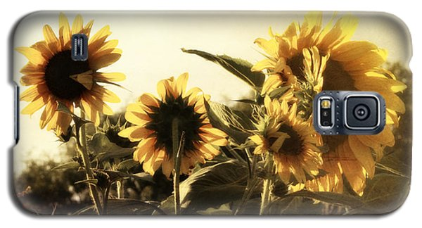 Galaxy S5 Case featuring the photograph Sunflowers In Tone by Glenn McCarthy Art and Photography