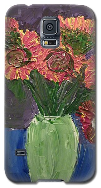 Sunflowers In Vase Galaxy S5 Case