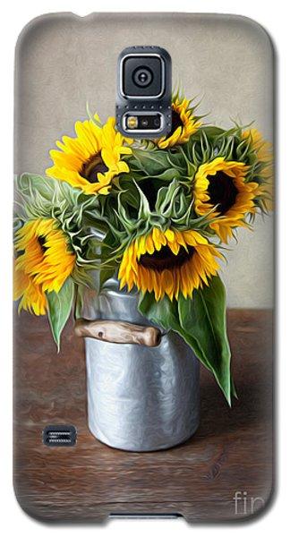 Sunflowers Galaxy S5 Case by Nailia Schwarz
