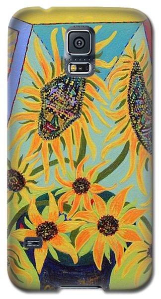 Sunflowers Rhapsody Galaxy S5 Case