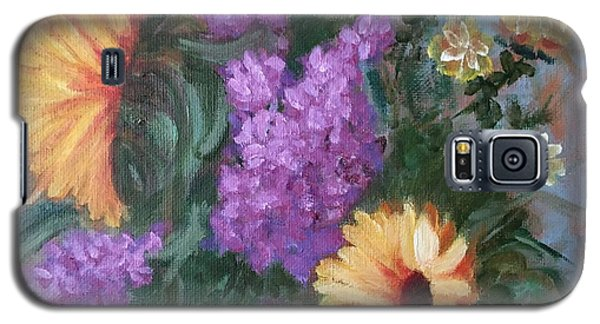 Sunflowers Galaxy S5 Case by Sharon Schultz