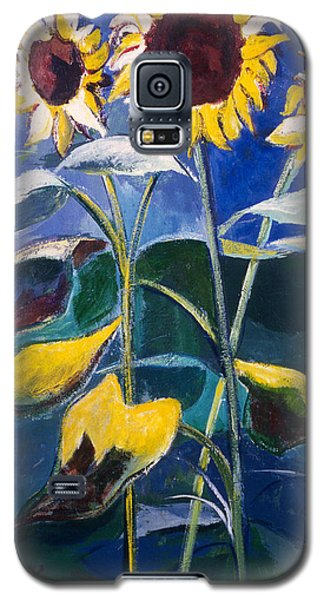 Sunflowers Standing Tall Galaxy S5 Case