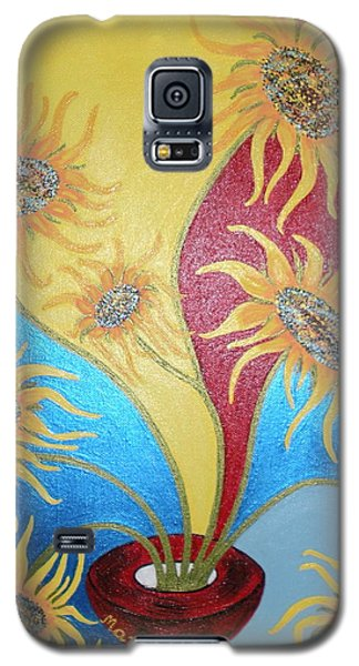 Sunflowers Symphony Galaxy S5 Case