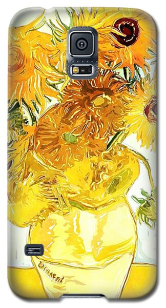 Sunflowers - Van Gogh Galaxy S5 Case