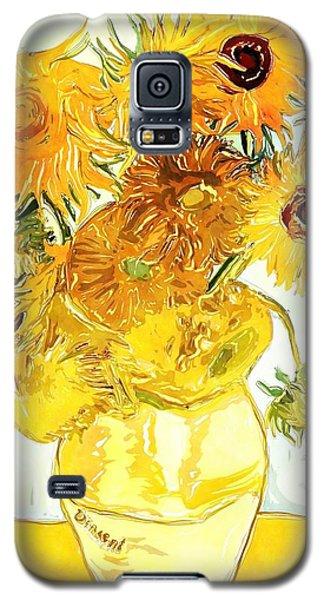 Sunflowers Van Gogh Galaxy S5 Case