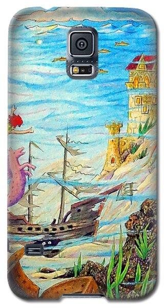 Sunken Ships Galaxy S5 Case