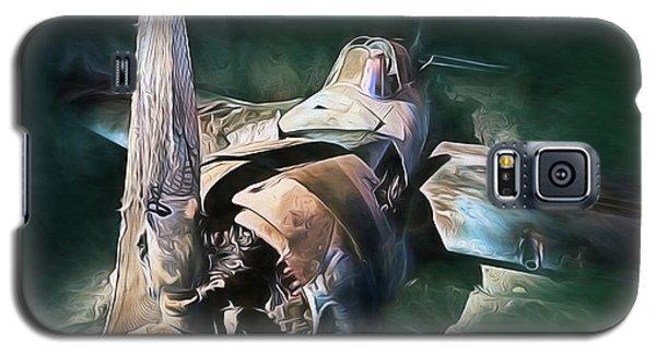 Galaxy S5 Case featuring the digital art Sunken Treasure by JC Findley