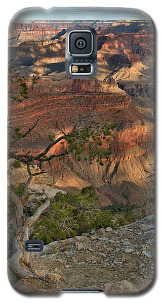 Galaxy S5 Case featuring the photograph Sunkissed Canyon by Stephen  Vecchiotti
