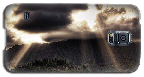 Sunlight Breaking Through The Gloom Galaxy S5 Case