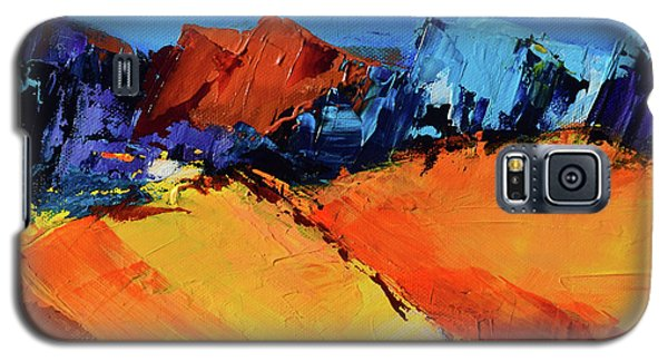 Sunlight In The Valley Galaxy S5 Case