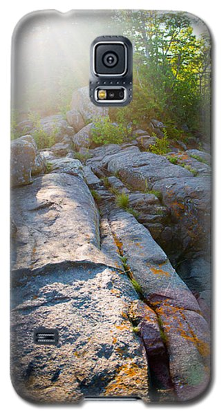 Sunlight On Cove Point Galaxy S5 Case