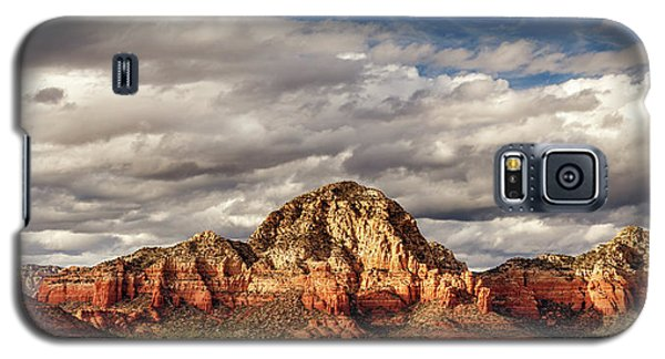 Galaxy S5 Case featuring the photograph Sunlight On Sedona by James Eddy