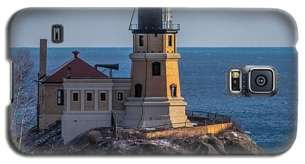 Sunlight On Split Rock Lighthouse Galaxy S5 Case by Paul Freidlund