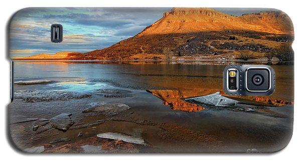 Sunlight On The Flatirons Reservoir Galaxy S5 Case